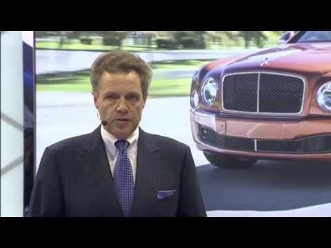 Founder's Court   Luxe:  Bentley Motors Detroit Auto Show Press Conference 2015