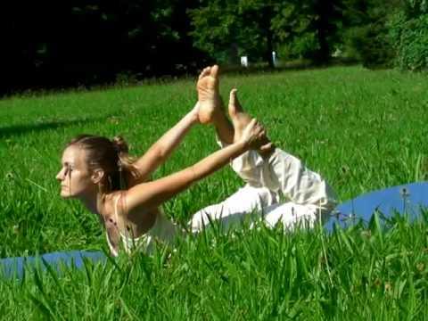 Yoga Demonstration with Carlotta
