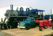 TRUCKS, TRAINS, and TRACTORS