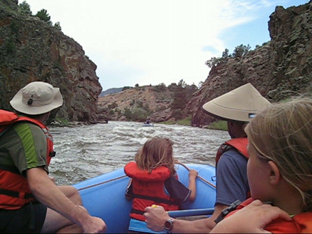Getting Soaked Rafting the Colorado River
