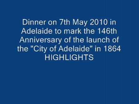 City of Adelaide 146th Anniv Dinner Highlights