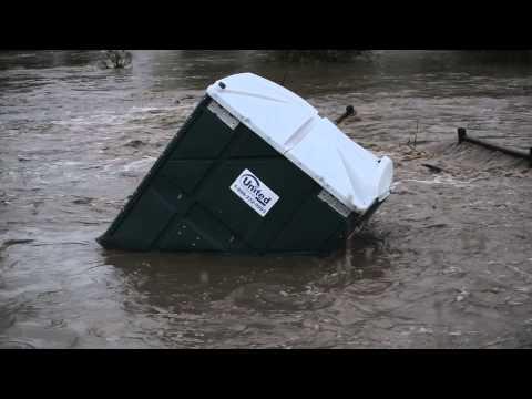 Coal Creek Flooding in Lafayette Colorado