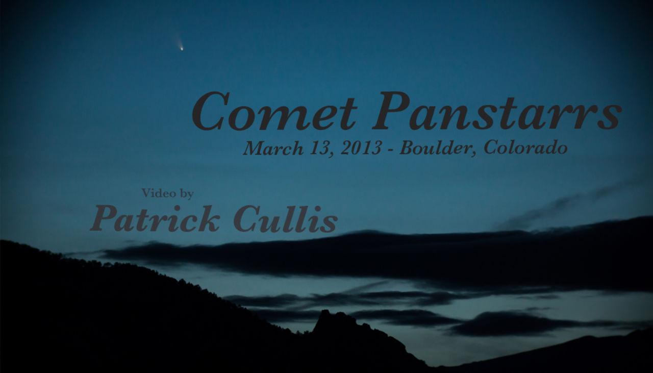 Comet Panstarrs - March 13, 2013