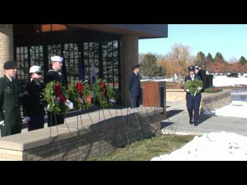 Wreaths Across America Ft. Logan Cemetery Denver 12-10-11.mp4
