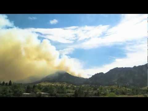 Flagstaff Fire - Boulder, CO - June 26, 2012