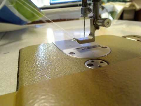 Piping a cushion - Attaching welt part 2