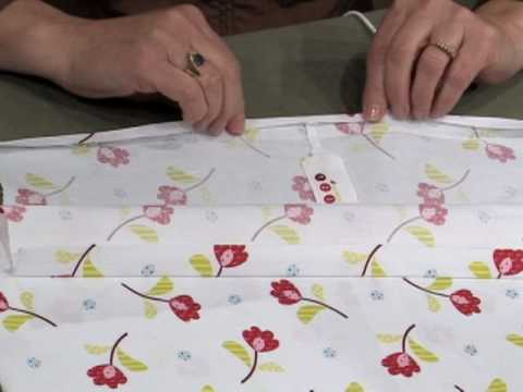 Learn how to create easy, adorable dresses  for little girls with Nancy Zieman