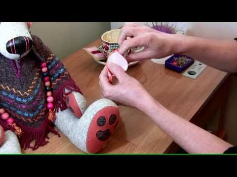 How to sew a stab backstitch tutorial with Lisa Pay