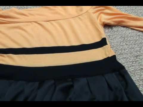 Turn a shirt into a dress