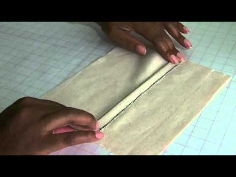 How to Sew a Lapped Seam