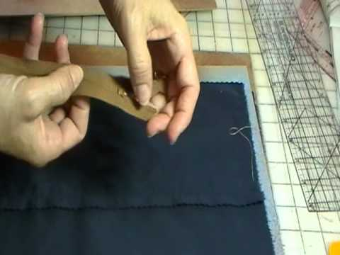 Centered zipper sewing technique by sew nice and easy