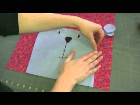 How to Machine Applique Convex Curves