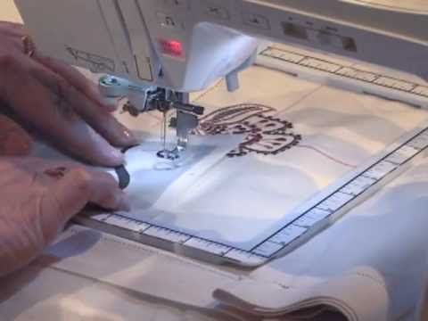 Continuous Machine Embroidery by Nancy Zieman