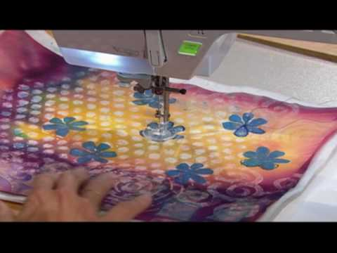 Learn how to turn distorted machine stitches and thread into decorative details