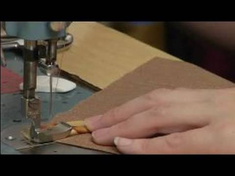 Sewing Piping in Curved Lines - Tutorial