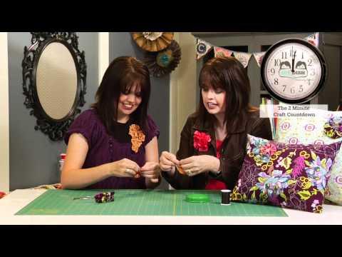 How to Make a Fabric Yo-Yo