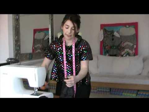 Ten Minute Skirt Tutorial by StitchlessTV