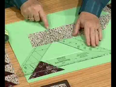 Quilting: Flying Geese With Kaye Wood