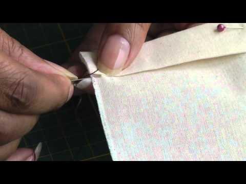 Sewing a Vertical Hemming Stitch
