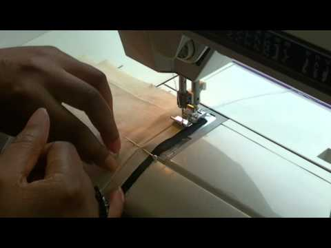 How to Sew Lining to a Zipper