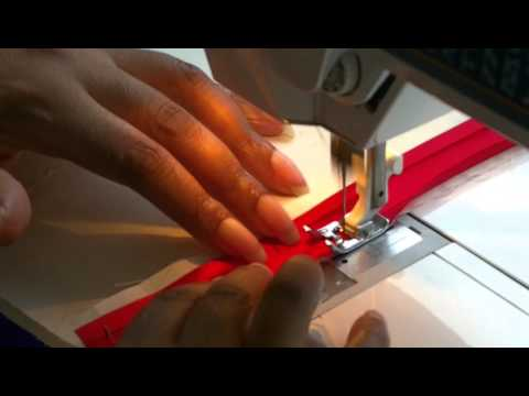 Sewing Bias Binding onto Seams - A How-to!