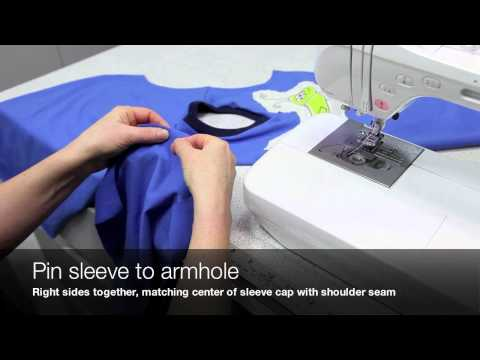 How to Sew a V-Neck T-Shirt (Jalie Pattern 2918)