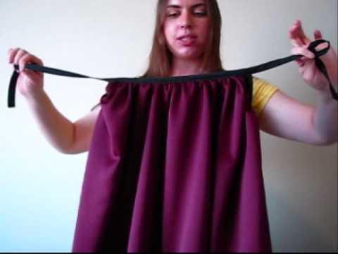 """Sewing Tutorial: Draped """"Curtain"""" Tank Top"""