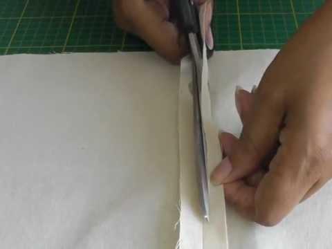 Sewing a Self-Bound Seam