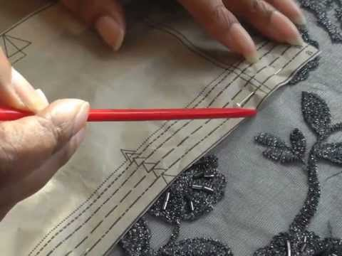 Lay Planning on Lace Fabric