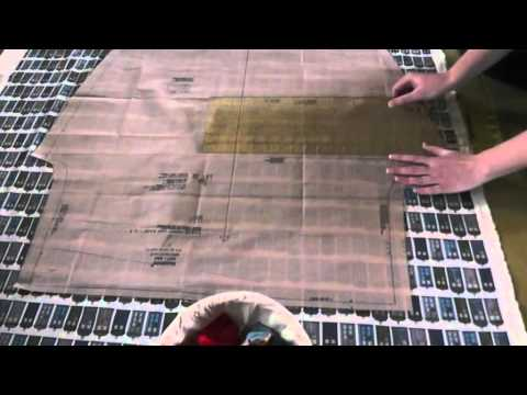 Beginners: How to Cut Out a Pattern - Part 2