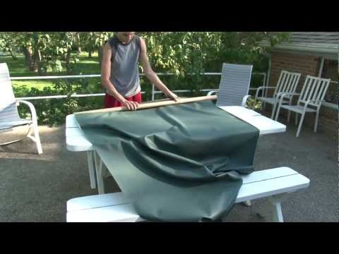 Sew An Outdoor Tablecloth and Co-ordinating Placemats