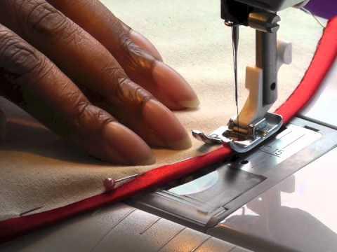 Sewing Bias Binding onto Curved Seams - Fashion Sewing TV