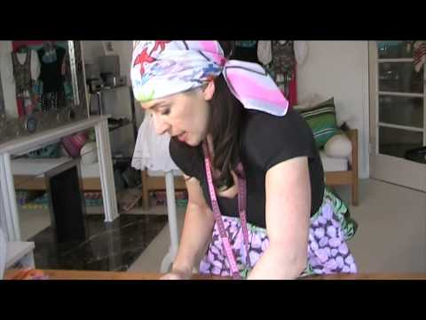 Make an African Print Apron in Minutes