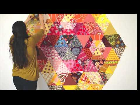 Janome + Anna Maria Horner: Patchwork Prism Quilt Project Highlights