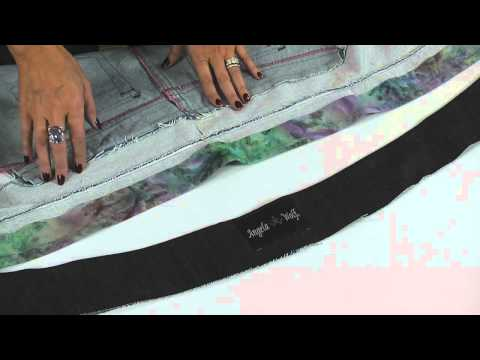 How to Sew a Non-stretch Waistband