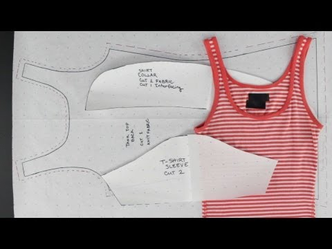 How to Create Patterns from Existing Simple Tops
