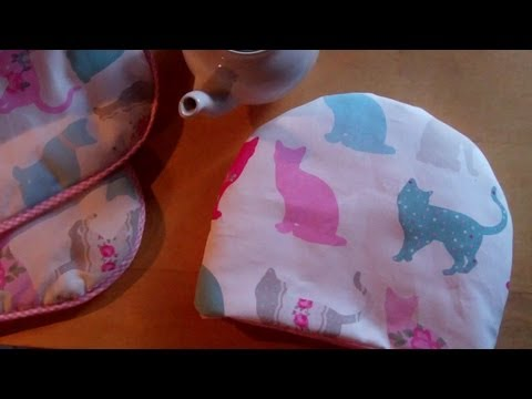 How to Sew an Easy Tea Cosy