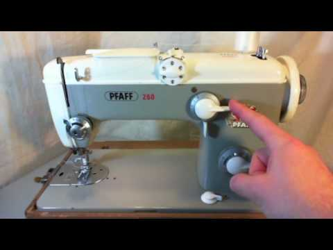 Reviewing The Pfaff 260