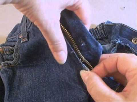 Jeans Zipper Replacement