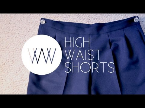 How to Make High Waist Shorts