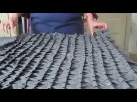Sew A Designer Pillow Easily Using Your Ruffler Foot