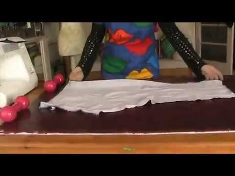 How To Sew High Waisted Leggings / Yoga Pants