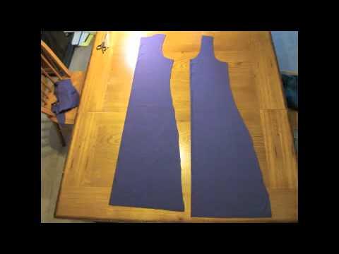 How to Sew a Cute Tanktop Dress