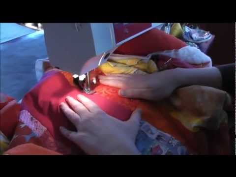 How to Quilt a Big Quilt on a Standard Sewing Machine