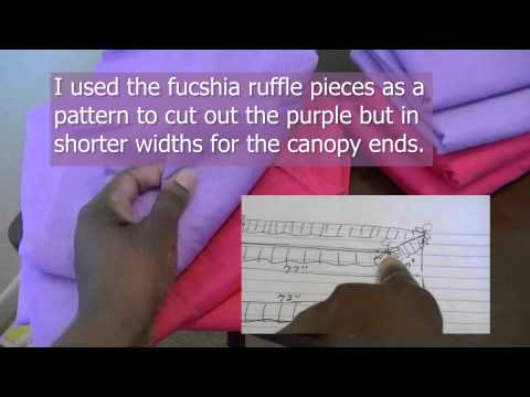 Easy Canopy Bed Cover Tutorial - by Niler Taylor