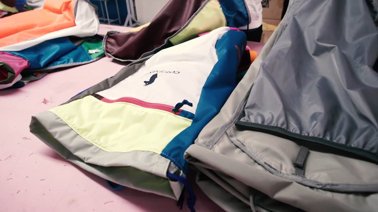 The Luzon Del Día One-of-a-Kind Daypacks Designed and Created by Cotopaxi - Re-purposed Textiles
