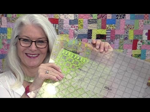 How to Straighten Your Fabric with Two Rulers
