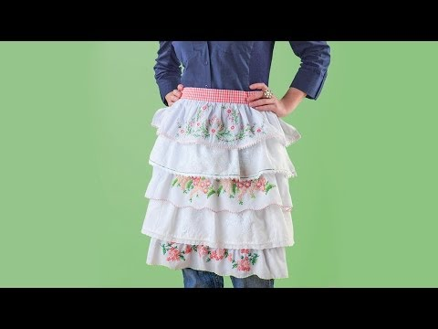 How to Sew a Ruffled Pillowcase Apron