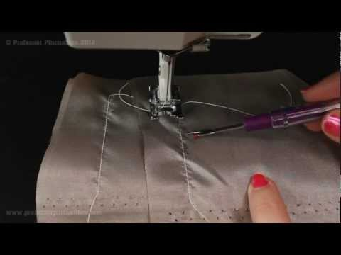 Sewing With Silk And Silk-like Fabrics