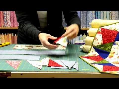 Happy Holidays Quilted Table Topper Tutorial